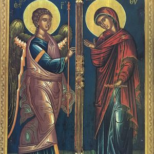 The Annunciation Harrison Iconography 2017