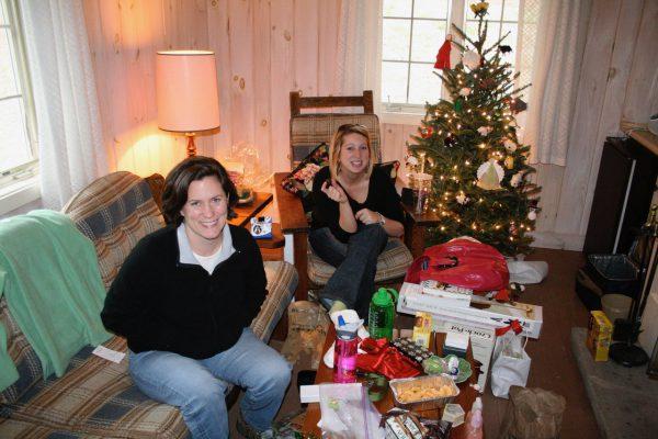 Christmas at Kanuga Jane and Julia