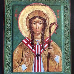 Brigid Of Kildare Icon