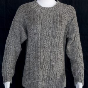Cabled Pullover Sweater
